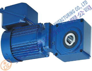 Bevel Helical Geared Motor 1.5KW ratio...