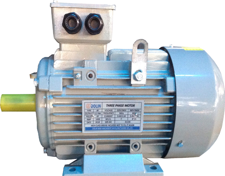 Electric motor three phase 3hp 2900rpm
